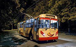 В Кривом Роге изменилось расписание троллейбуса в новогоднюю ночь
