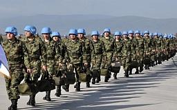 Верховная Рада разрешила участие миротворцев на территории Украины