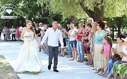 Северный ГОК открыл Аллею любви в Терновском районе