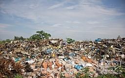 Криворожский район: Десятки тонн гниющего мусора наносят существенный урон экологии