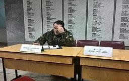 Протестующие Кривого Рога вручили повестку заммэра Александру Фищенко