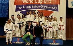 Спортсмены Кривого Рога привезли медали Чемпионата мира по джиу-джитсу