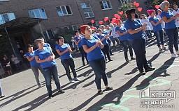 Студенты Криворожского медколледжа присоединились к всемирному флэшмобу