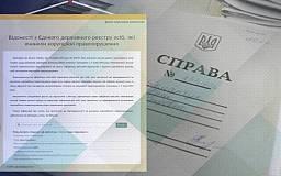 101 публичный реестр Украины