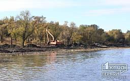 В Кривом Роге продолжаются работы по очистке прудов