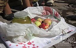 В Кривом Роге состоялось празднование Яблочного Спаса (СЮЖЕТ)