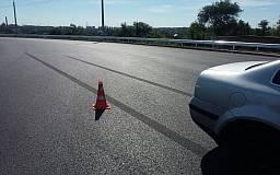 В Кривом Роге произошло ДТП на отремонтированной дороге возле дамбы КРЭСа