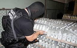 Сотрудники Криворожского отдела ГФС «накрыли» подпольный цех по производству водки