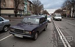 В Кривом Роге на проспекте Гагарина сбили человека на пешеходном переходе