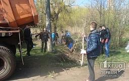 Жители Саксаганского района сделали свой дом чище