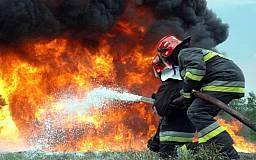 С начала года на Днепропетровщине произошло почти 5 тыс. пожаров на которых погибли более 100 человек
