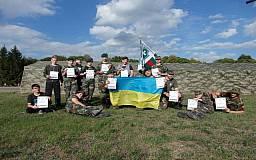 Український прапор взяв участь у литовському поході