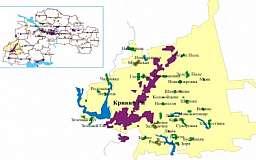 Криворожский район может стать уездом, а Днепропетровская область - регионом