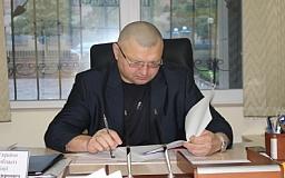 В Кривом Роге начальник областной милиции провел личный прием граждан