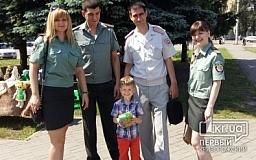 Криворожские дети получили сладкие подарки от сотрудников пенитенциарной службы
