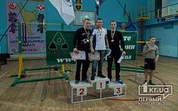 Криворожанин привез награду с турнира по воркауту