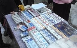 В Кривом Роге активисты прикрыли еще одну точку продажи контрабандных сигарет