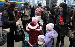 В Днепропетровской области зарегистрировано почти 60 тыс. переселенцев из Донбасса и Крыма