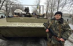 Боец 17-й танковой бригады представлен к государственной награде