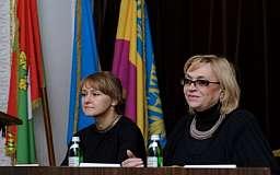 В Кривом Роге с деловым визитом побывала народный депутат Украины VIII созыва Александра Кужель