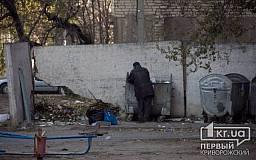 «Свидетели событий»: в Кривом Роге двор превратился в мусорник