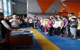 В Кривом Роге состоялось первенство города по скалолазанию среди юниоров