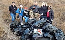 Криворожан приглашают присоединиться к уборке мусора в посадке возле речки Саксагань