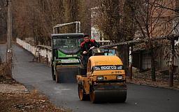 В Кривом Роге спешат отремонтировать максимальное количество дорог