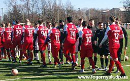 Футболисты из команды «Горняк» обыграли спортсменов команды «Кривой Рог»