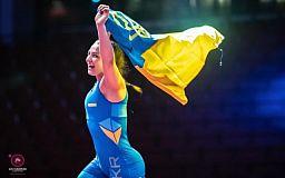 Криворожская спортсменка стала двукратной чемпионкой Европы по вольной борьбе