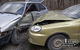 В Кривом Роге на объездной дороге Daewoo Lanos врезался в ВАЗ