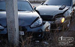 В ДТП на объездной дороге в Кривом Роге пострадали пассажиры Daewoo Lanos
