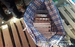 1000 пачек сигарет изъяли криворожские полицейские у торговцев на рынке