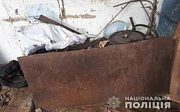 Недалеко от Кривого Рога женщина устроила на веранде пункт приема металла