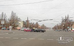 В районе 173 квартала в Кривом Роге случилось ДТП
