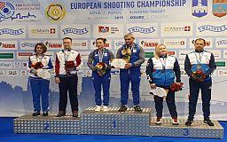 Криворожские стрелки завоевали медали на чемпионате Европы