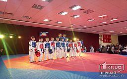 Криворожские тхэквандисты завоевали медали на Международном турнире