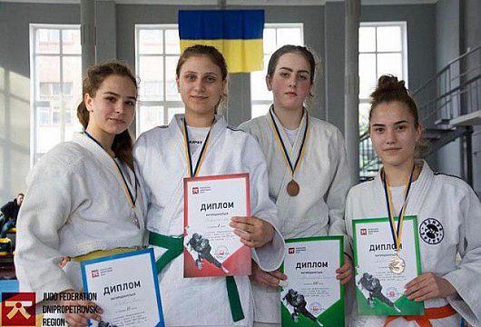 Дзюдоисты криворожской сборной завоевали медали на чемпионате Днепропетровской области