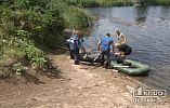 В Криворожском районе посреди реки обнаружен труп мужчины в лодке