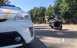 В Кривом Роге ребенок едва не угодил под колеса скутера