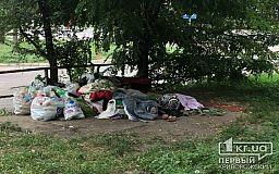Криворожанке нравится жить под деревом, потому что ей помогают жители домов