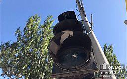 В центре Кривого Рога не работают светофоры