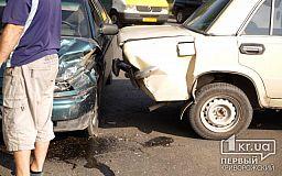 В Кривом Роге случилось ДТП, в одной из машин был ребенок
