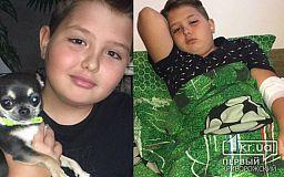 Криворожскому школьнику нужна помощь, чтобы побороть опухоль