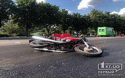 В Кривом Роге в ДТП пострадал сотрудник фирмы, которая занимается ремонтом дорог, - свидетели