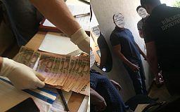 В Кривом Роге инспектор фискальной службы задержан за взяточничество