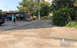 В криворожских дворах ремонтируют дороги