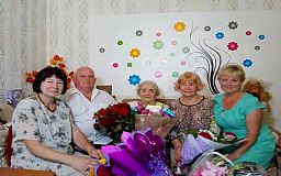 Криворожанка дожила до 100 лет благодаря позитиву и человечности