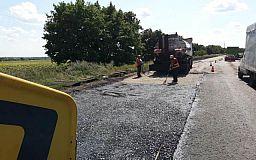 Деформированного покрытия больше нет на участке автотрассы Днепр-Кривой Рог-Николаев