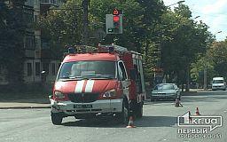 В Кривом Роге машина спасателей попала в ДТП